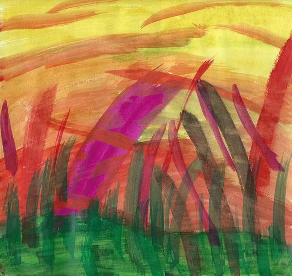 Painting - Celebration Of Spring by Susan Schanerman