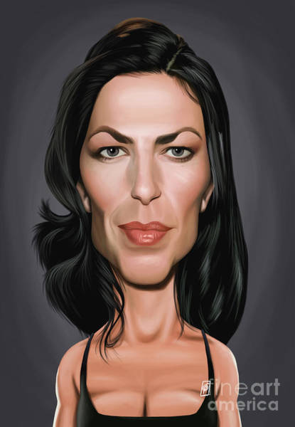 Digital Art - Celebrity Sunday - Claudia Black by Rob Snow