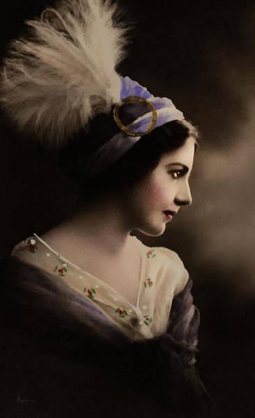 Digital Art - Celeste Aida by Isabella Howard