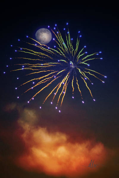 Photograph - Celestial Celebration  by Dianna Lynn Walker
