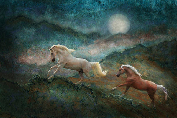Photograph - Celestial Stallions by Melinda Hughes-Berland
