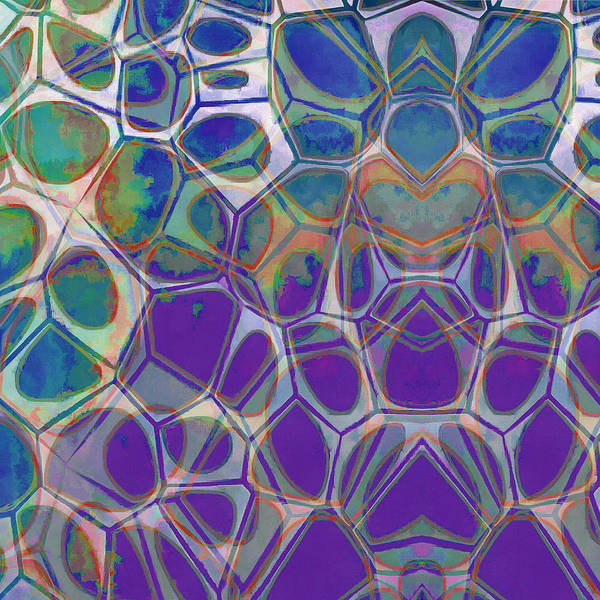 Cell Abstract 17 Art Print