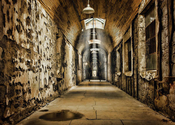 Photograph - Cell Block 1 by Heather Applegate