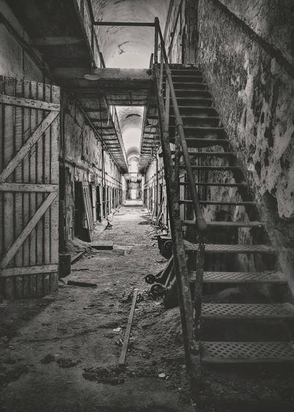 Photograph - Cell Block 6 Bw by Heather Applegate