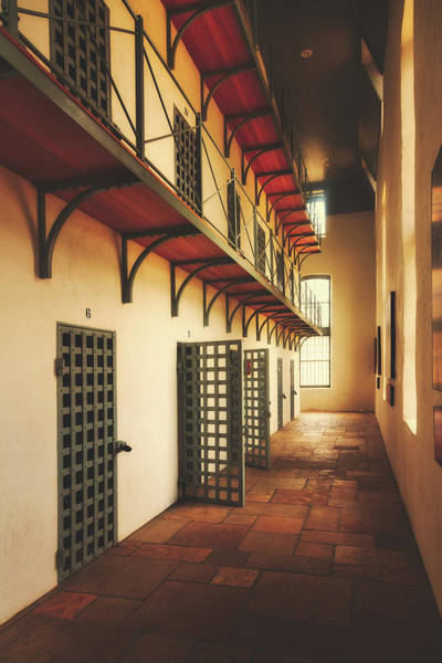 Laramie Photograph - Cell Block by Library Of Congress
