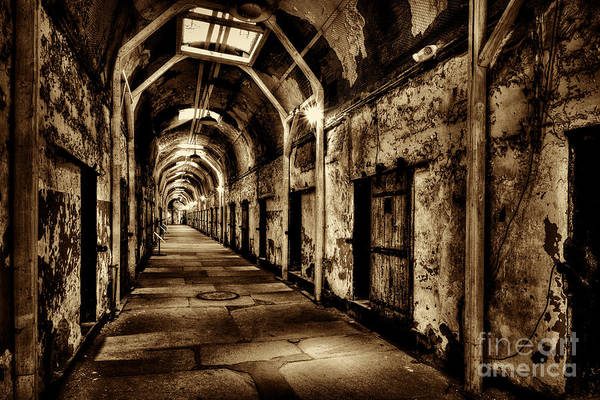 Photograph - Cell Block Of No Return by Paul W Faust - Impressions of Light