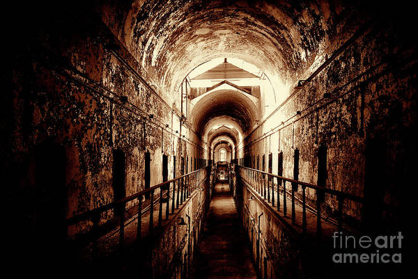 Photograph - Cell Block Row by Paul W Faust - Impressions of Light