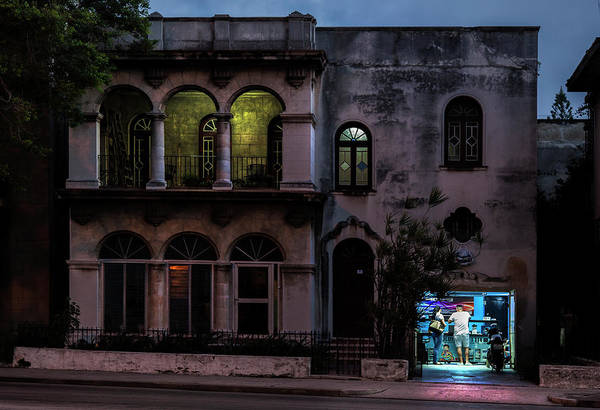 Charles Mansion Photograph - Cell Phone Shop Havana Cuba by Charles Harden