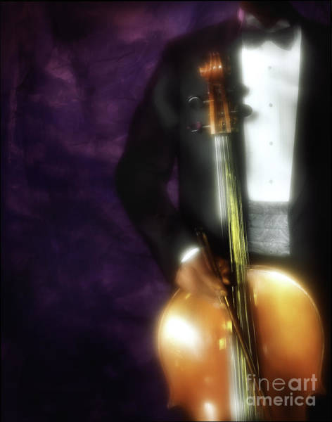 Photograph - Cello Player by Craig J Satterlee