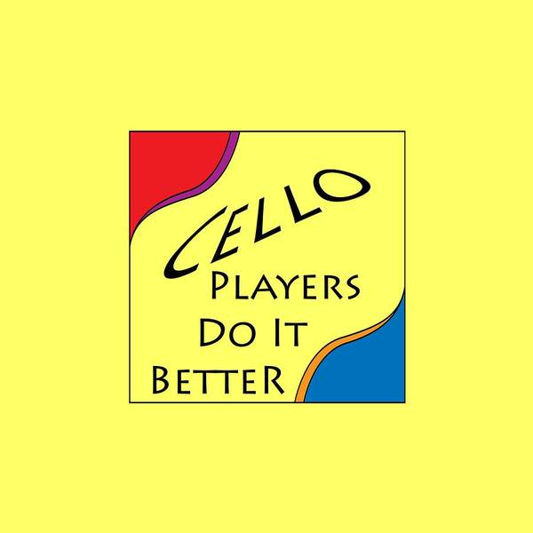 Photograph - Cello Players Do It Better 5660.02 by M K Miller