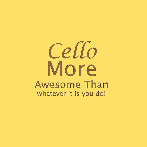 Photograph - Cellos More Awesome Than You 5567.02 by M K Miller