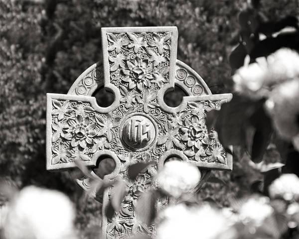 Cross Photograph - Celtic Cross I by Tom Mc Nemar