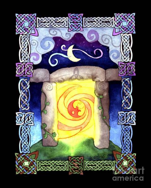 Painting - Celtic Doorway by Kristen Fox