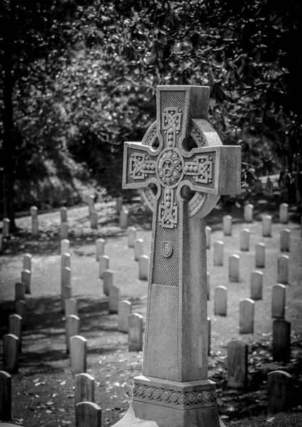 Photograph - Celtic Grave by James L Bartlett