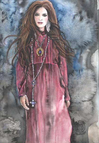 Celtic Mythology Wall Art - Painting - Celtic Pride by Kim Whitton