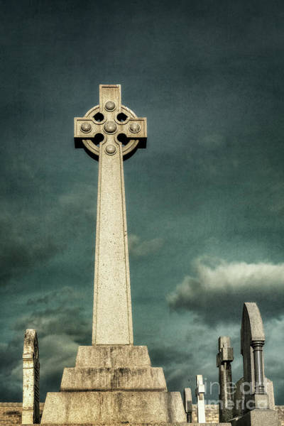 Graveyard Wall Art - Photograph - Celtic Sanctuary by Evelina Kremsdorf