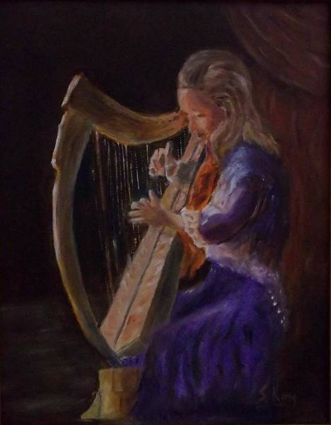 Stephen King Painting - Celtic by Stephen King