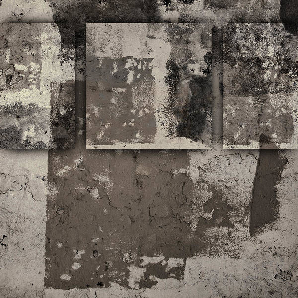 Cement Wall Art - Photograph - Cement Squares Number One by Carol Leigh