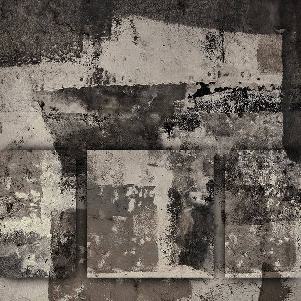 Cement Wall Art - Photograph - Cement Squares Number Two by Carol Leigh