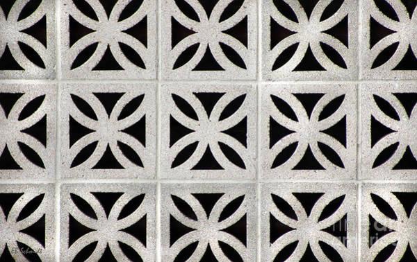 Photograph - Cement Wall 1 Horizontal by E B Schmidt