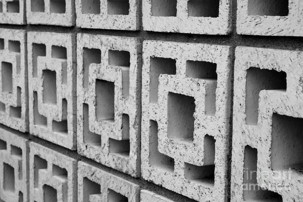 Photograph - Cement Wall 2 by E B Schmidt