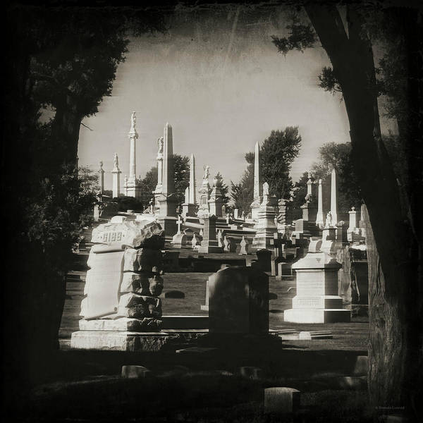 Burried Photograph - Cemetery 2 by Brenda Conrad