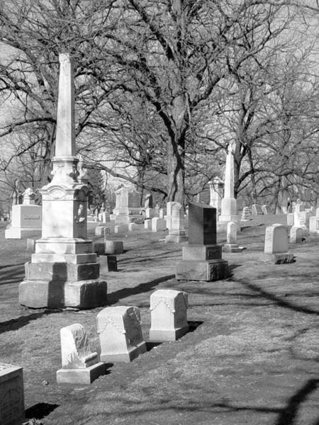 Photograph - Cemetery 3 by Anita Burgermeister