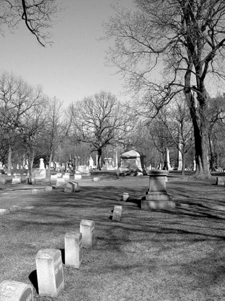 Photograph - Cemetery 7 by Anita Burgermeister