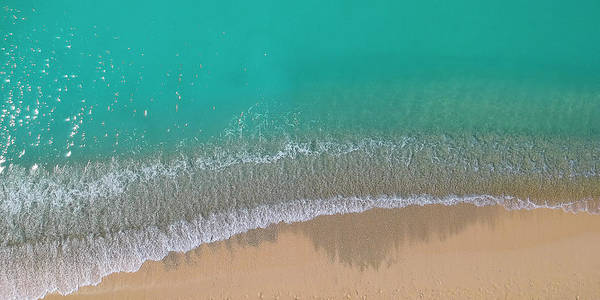 Wall Art - Photograph - Cemetery Beach Aerial Panoramic by Adam Romanowicz