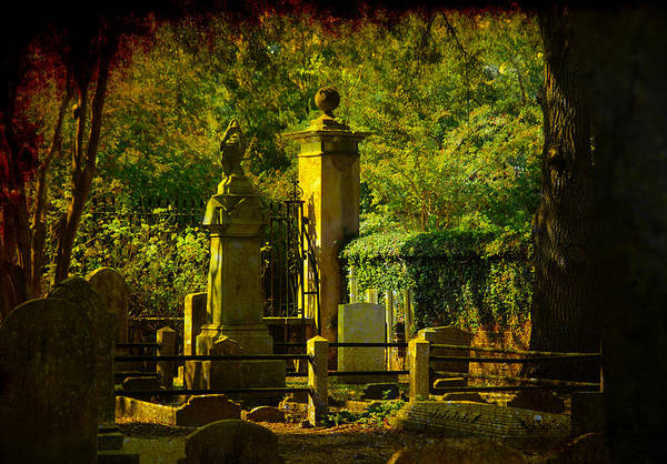 Famous Cemeteries Photograph - Cemetery In Charleston by Susanne Van Hulst