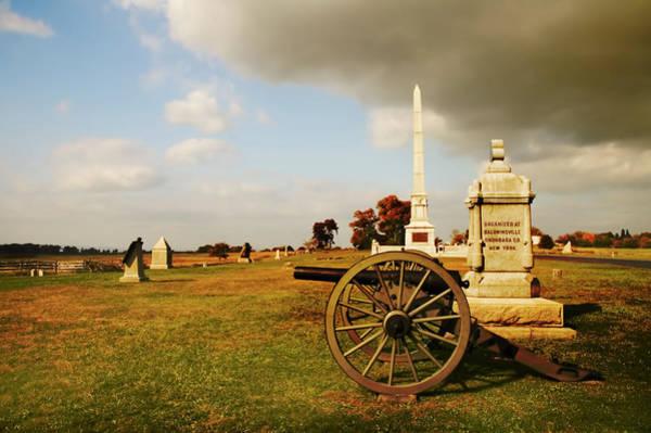 Cemetery Ridge Photograph - Cemetery Ridge by Mick Burkey