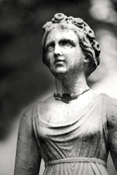 Photograph - Cemetery Statuary by Don Johnson