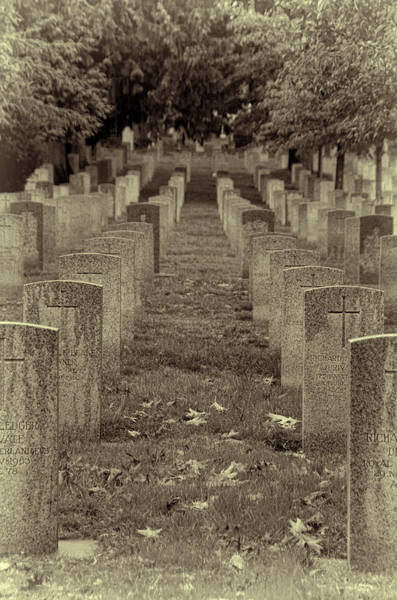 Photograph - Rest In Peace - Sepia by Marilyn Wilson