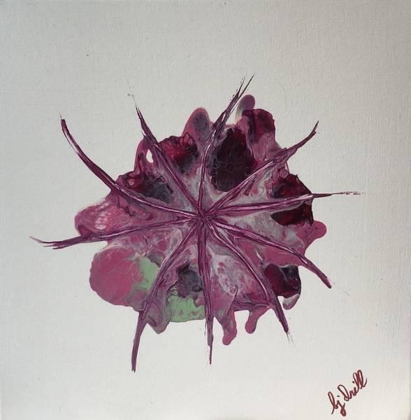 Centaurea Montana Wall Art - Painting - Centaurea Montana Dealbata by Bj Drill