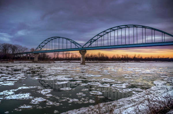 Centennial Bridge Photograph - Centennial Bridge 1 by Jenifer Kim