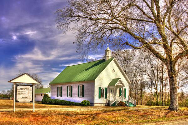 Photograph - Centennial Christian Church 1909 by Reid Callaway