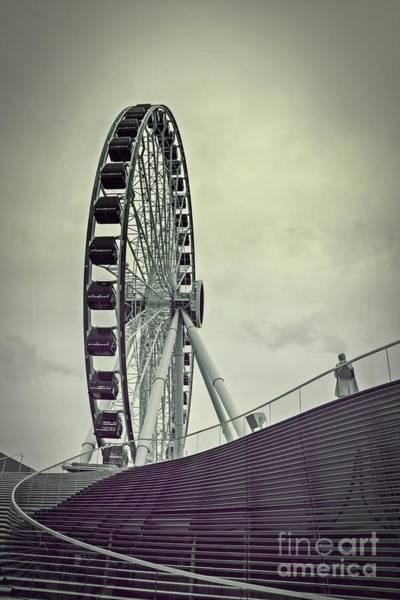 Photograph - Centennial Wheel by Randy J Heath