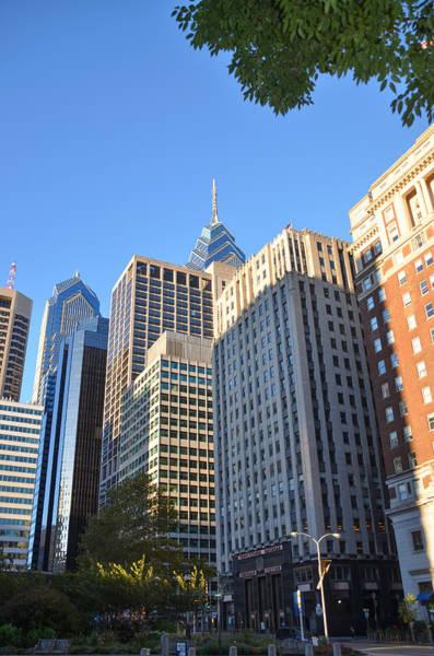 Philly Digital Art - Center City Philadelphia by Bill Cannon