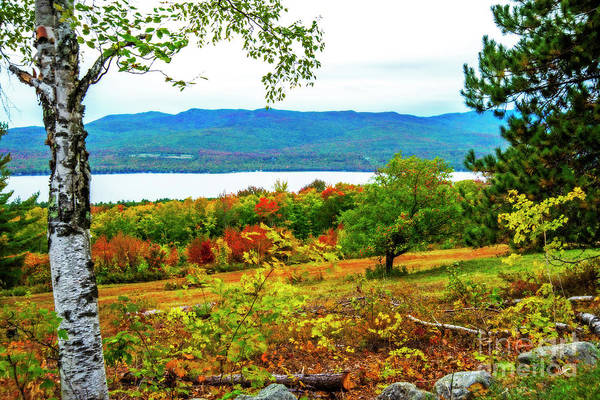 Photograph - Center Hill Autumn by Alana Ranney
