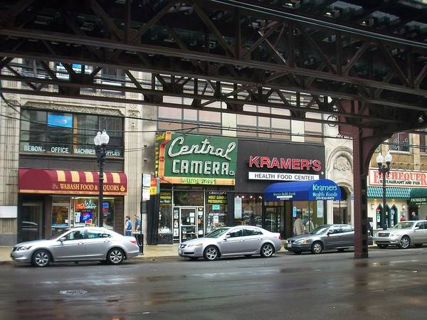 Photograph - Central Camera On Wabash Ave  by Anita Burgermeister