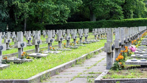 Photograph - Central Cemetery by Jacek Wojnarowski