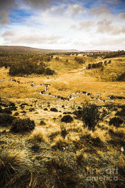 Moorland Photograph - Central Highlands Of Tasmania by Jorgo Photography - Wall Art Gallery