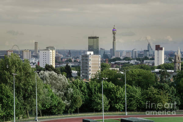 Photograph - Central London Skyline by Perry Rodriguez