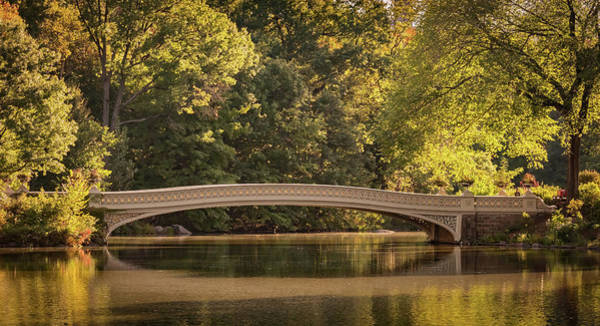 Photograph - Central Park Bridge by Francisco Gomez
