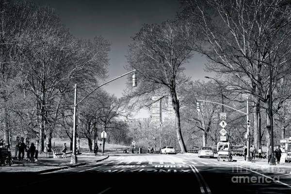 Photograph - Central Park Crossing by John Rizzuto
