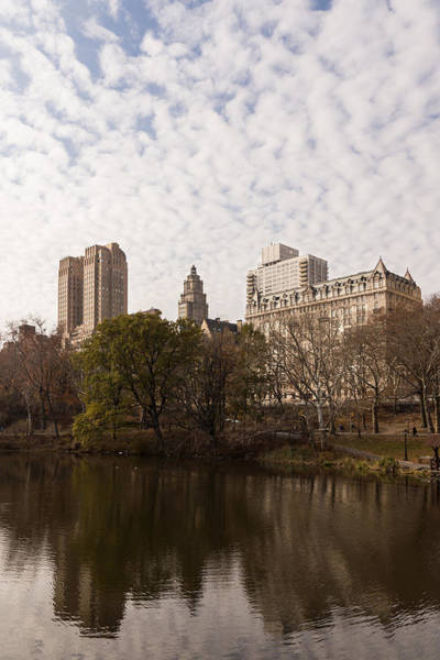 Photograph - Central Park Glamorous Apartment Buildings - Manhattan Upper West Side by Georgia Mizuleva