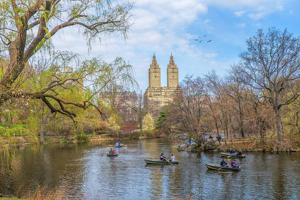 Wall Art - Photograph - Central Park In Spring by June Marie Sobrito