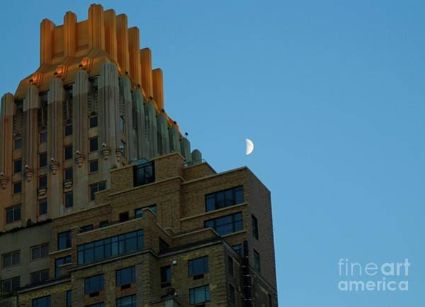 Wall Art - Photograph - Central Park Moon by Gregory E Dean
