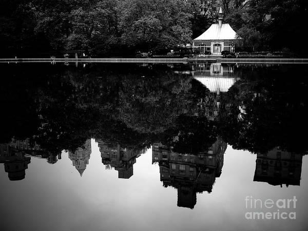 Photograph - Central Park Pond by M G Whittingham