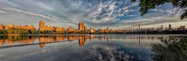 Wall Art - Photograph - Central Park Reservoir Sunset by Robert Ullmann